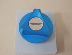 Monster - Racing Oil Filler Cap Blue Aluminum