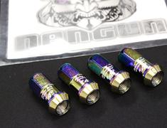 ZRC11N x4 - KICS Neochro Titanium Coated - M12 x P1.5 - 4 Nuts