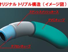 Project Mu - Teflon Brake Line - Stainless Steel