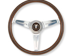 - Type: Flat - Material: Wood - Color: Polished Spoke - Diameter: 360mm - N120