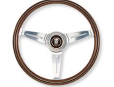 - Type: Flat - Material: Wood - Color: Polished Spoke - Diameter: 340mm - N340