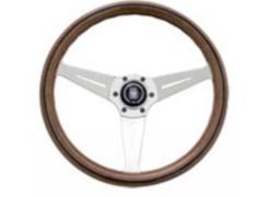 - Type: Deep Cone - Material: Wood - Color: Polished Spoke - Diameter: 350mm - N770