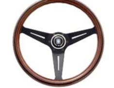 - Type: Deep Cone - Material: Wood - Color: Black Spoke - Diameter: 350mm - N771