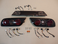 180SX - RS13 - Nissan - 180SX - Smoked Rear Lights - 180SX