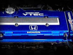 M and M Honda - Blue Head Cover