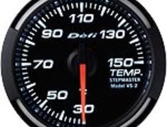 Defi - Racer Gauge - White - Temperature