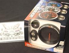DF12003 Tachometer White 0 - 9000RPM - 80mm Diameter