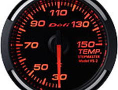 Defi - Racer Gauge - Red - Temperature