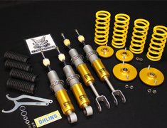 Skyline - R32 GTR - BNR32 - Front Spring: 10kg/mm - Rear Spring: 8kg/mm - Upper Mounts: Pillow Ball - BNR32