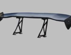 Universal - Material: Black FRP - Width: 1550mm - Height: High 290mm - BK-HIGH