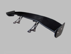 Universal - Material: Black FRP - Width: 1550mm - Height: Medium 210mm - BK-MEDIUM