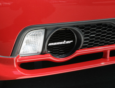 Monster Sport - Single Muffler Bezel