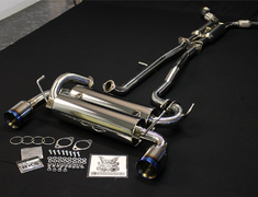 Fairlady Z - 350Z - Z33 - Pieces: 3 - Pipe Size: 2x 60mm - Tail Size: 2x 110mm - 32009-AN002