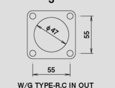 - Wastegate Gasket - Type R/C - In/Out - 11900410