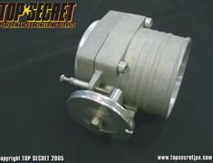 Top Secret - Throttle Body - Aluminium