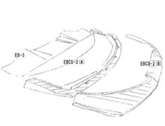 Lancer Evolution IX - CT9A - Replacement Parts A+B in Diagram - EBCS-2 (A+B)