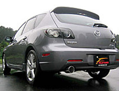 Mazdaspeed Axela - BK3P - Pieces: 2 - Pipe Size: 50.8mm - Tail Size: 100mm - Weight: 8.7kg. - 450-42611
