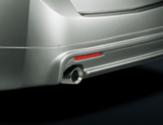Mugen - Rear Under Spoiler - Accord CU1