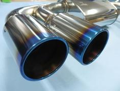Impreza WRX STI - GRB - Pieces: 1 - Pipe Size: 65mm - Tail Size: 90mm (x4) - Body Type: S304 - Tail Type: RM (Titan) - 31021