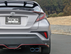 C-HR 4WD - NGX50 - Pieces: 2 - Pipe Size: 45mm - Tail Size: 2x 94mm - Weight: 9.8kg - Body Type: S304 - 31021-AT003