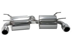Roadster - NCEC - Rear Muffler Only - Pieces: 1 - Pipe Size: 2x 60mm - Tail Size: 2x 105mm - 32018-AZ009