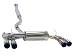 Impreza WRX STI - GRB - Pieces: 2 - Pipe Size: 65mm - Tail Size: 90mm(x4) - Body Type: S304 - Tail Type: RM (Titan) - 31021-