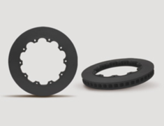GT-R - R35 - Rotors Only - Requires standard hats - Type: Rear - Size: 380mm - 38030B26R/27L