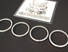 - Aluminum - Inner Diameter: 65mm, Outer Diameter: 75mm - HUB65N