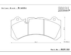 - Brembo - 6 Pot - RCP132