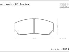 - AP Racing Caliper - CC2279/3215/5200 - RCP015