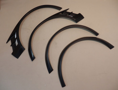 Lancer Evolution IX - CT9A - Double Over Fender (only fits on the EOF-2 and EOR-9) - EWO-1+EWO-2