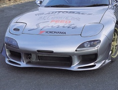RX-7 - FD3S - AFFLUX Front Bumper - Ver.2 Type R - Material: FRP - Color: Unpainted - FEED-AFBV2TR