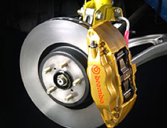 STI - Brembo Brake Kit - Front