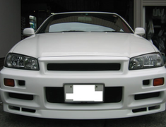 East Bear - Front Spoiler - R34 - Type 2