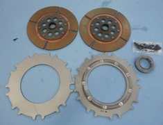 Toyota Supra 2JZGT Twin clutch cover marked BG-061  kit includes 2x clutch disc, 1x pressure plate,