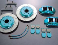 Project Mu - Racing Caliper - 4Pistons x 4Pads