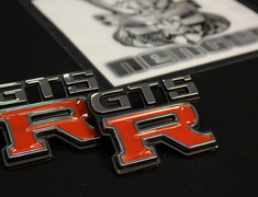 Skyline - GTS-R Emblem 1 X Front and 1 X Rear - ZZZEM01 Type A