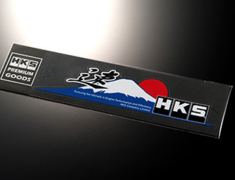 Universal - HKS STICKER 速 (Speed) - Size: 240 x 65mm - Colour: - - 51003-AK123
