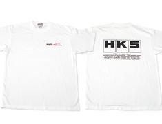 HKS - T-Shirt 801 - White