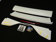 Skyline - R33 GTS-t S1 - ECR33 - R33 FRP Nissan - Skyline 2 Door - R33 - Unpainted FRP Center