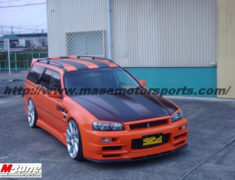 Stagea - WC34 - Construction: FRP - Front Bumper/Spoiler
