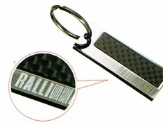 Ralliart - Carbon Plate Key Holder