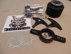 Z33 - Nissan - 350Z - Z33 Colum Kit  Uses the OEM Steering wheel