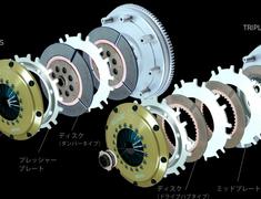 ORC - 1000F/ SPL Series - Triple Plate Clutch