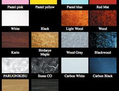 Affection - Super Front Table - Type YO Colours