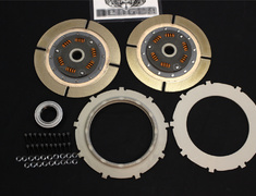 Skyline - R32 GTR - BNR32 - OS Overhaul Kit A for TS2CD - Clutch disc (×2), centre plate (×1), pressure plate, cover bolts (x1