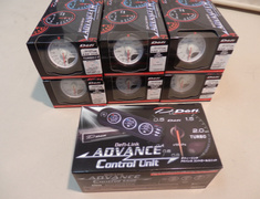Turbocharged - Defi One Pack White - 1 X Control Unit  DF07703-1 X Oil Temp DF09101-1 X Water Temp DF09201-Exhaust