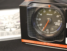 - Type: Tachometer - Color: Black - Diameter: 60mm - Range: 0 ~ 9000rpm - DF09404