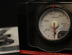 DF08101 52mm - Oil Pressure - 0-1000kPA - White