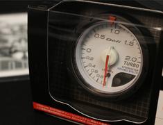 DF07801 52mm - Turbo Max 200kPa - -100-+200kPa - White